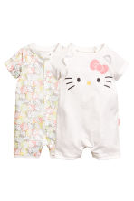 2-pack pyjamas - Vit/Hello Kitty -  | H&M FI 1