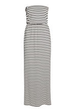 Maxi dress - White/Striped - Ladies | H&M 2