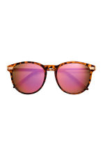 Sunglasses - Brown/Patterned/Pink - Ladies | H&M 2