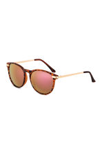 Sunglasses - Brown/Patterned/Pink - Ladies | H&M 1
