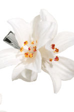 2-pack hair clips - White - Ladies | H&M CN 2