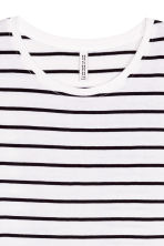 Long T-shirt - White/Striped - Ladies | H&M 3