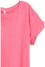Long T-shirt - Pink - Ladies | H&M CN 3