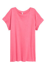 Long T-shirt - Pink - Ladies | H&M 2