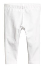 Jersey leggings - White - Kids | H&M 1