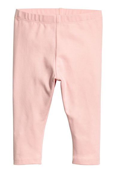 Jersey leggings - Light pink - Kids | H&M