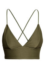 Bikini top - Khaki green - Ladies | H&M 2