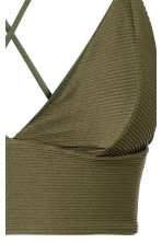 Bikini top - Khaki green - Ladies | H&M 4
