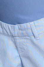 MAMA Chino shorts - Blue/White/Striped - Ladies | H&M CN 4