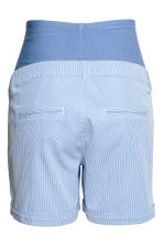 MAMA Chino shorts - Blue/White/Striped - Ladies | H&M 3
