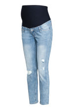 MAMA Skinny Ankle Jeans - Light denim blue/Trashed - Ladies | H&M CN 2