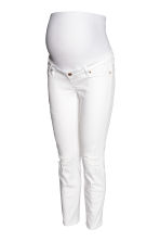 MAMA Skinny Ankle Jeans - Wit denim - DAMES | H&M BE 2