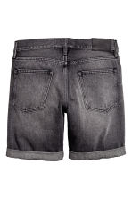 Short en jean - Noir washed out - HOMME | H&M CH 3