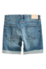 Denim shorts - Denim blue - Men | H&M 3
