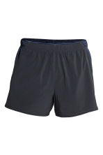 Running shorts - Dark blue - Men | H&M CN 2