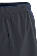 Running shorts - Dark blue - Men | H&M 3