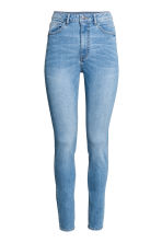 Trousers High waist - Light denim blue - Ladies | H&M CN 2