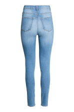 Trousers High waist - Light denim blue - Ladies | H&M CN 3