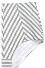 Bikini bottoms - White/Grey striped - Ladies | H&M 3