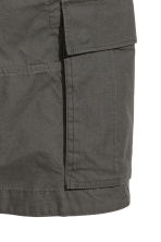 Cargo shorts - Dark grey - Men | H&M 3