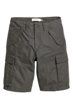 Cargo shorts - Dark grey - Men | H&M 2