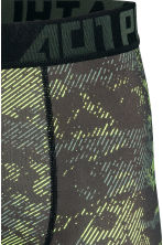 Sports boxer shorts - Black/Yellow - Men | H&M CN 3
