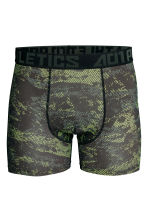 Sports boxer shorts - Black/Yellow - Men | H&M CN 2