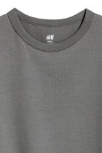 Cotton T-shirt - Dark grey -  | H&M CN 3