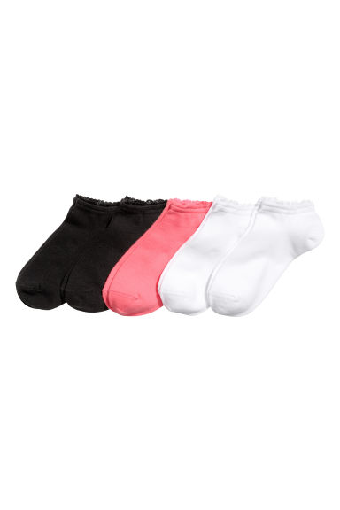 5-pack trainer socks - White - Kids | H&M