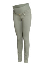 MAMA Superstretch trousers - Light khaki green - Ladies | H&M CN 2