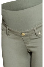 MAMA Superstretch trousers - Light khaki green - Ladies | H&M 4