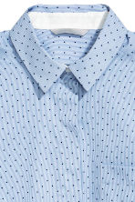 Stretch shirt - Blue/Spotted - Ladies | H&M CN 3