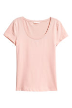 Jersey top - Powder pink - Ladies | H&M IE 2
