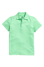 Polo shirt - Light green -  | H&M CA 2
