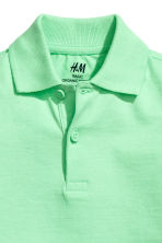 Polo shirt - Light green -  | H&M CA 3