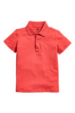 Polo shirt - Coral red - Kids | H&M CN 2