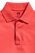 Polo shirt - Coral red - Kids | H&M CN 3