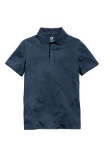 Polo shirt - Dark blue - Kids | H&M CN 2