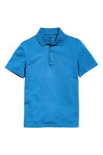 Polo shirt - Cornflower blue - Kids | H&M CN 2