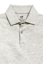 Polo shirt - Light grey marl - Kids | H&M 3