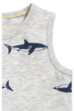 2-pack tops - Grey/Sharks -  | H&M CN 4