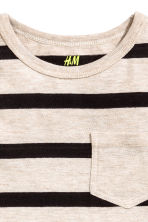 2-pack tops - Light beige/Striped - Kids | H&M CA 4
