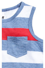 2-pack tops - Bright blue - Kids | H&M 4