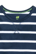 2-pack tops - Dark blue/Striped -  | H&M CN 4