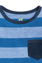 2-pack tops - Blue/Striped - Kids | H&M CN 4