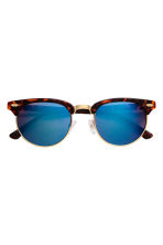 Sunglasses - Tortoiseshell/Blue - Ladies | H&M CN 2