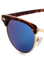 Sunglasses - Tortoiseshell/Blue - Ladies | H&M CN 3