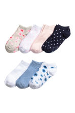 7-pack trainer socks - Blue marl - Kids | H&M 1