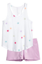 Jersey pyjamas - Purple - Kids | H&M 1