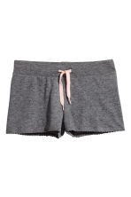 Jersey pyjamas - Dark grey marl - Kids | H&M 2